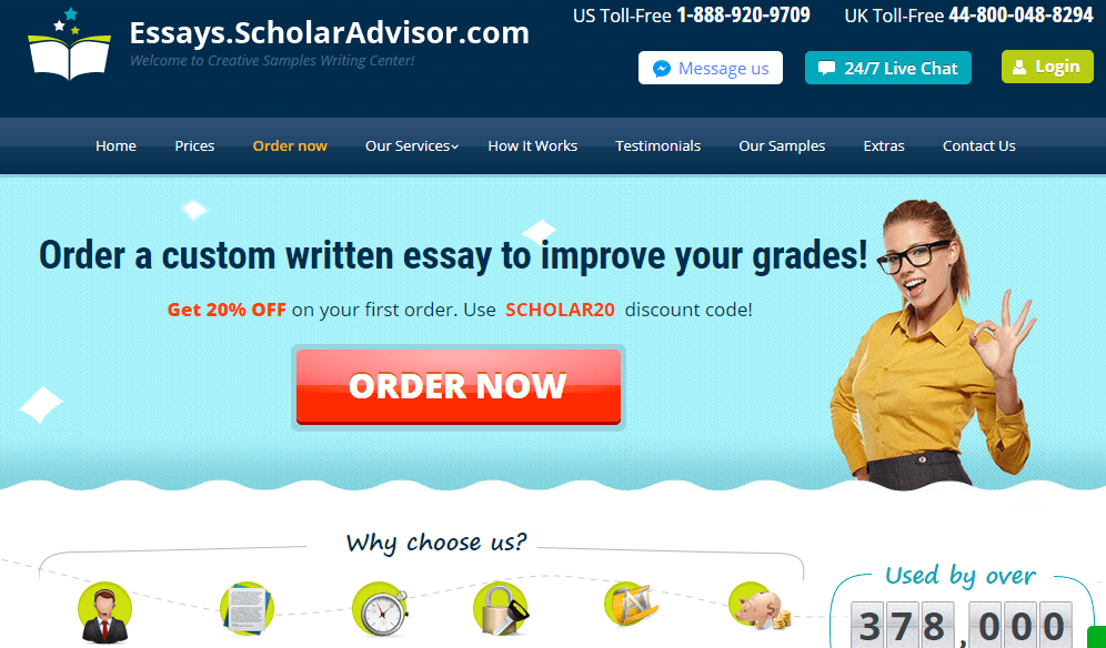 ScholarAdvisor review