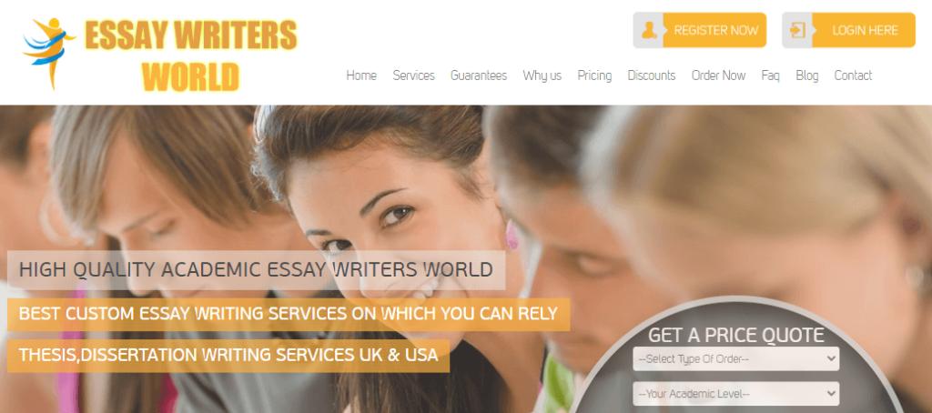EssayWritersWorld review